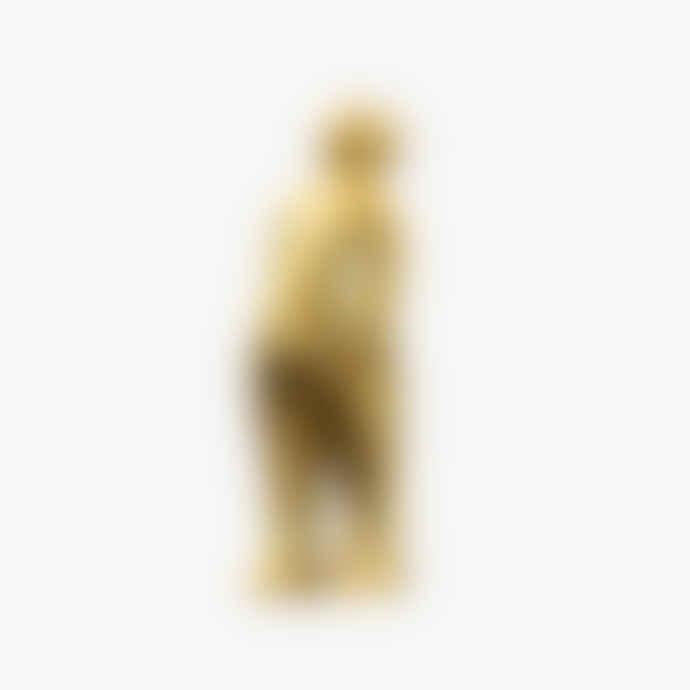CORES DA TERRA The Visitor Mini Sculpture – Limited Lustrum Edition  24 K Gold Leaf