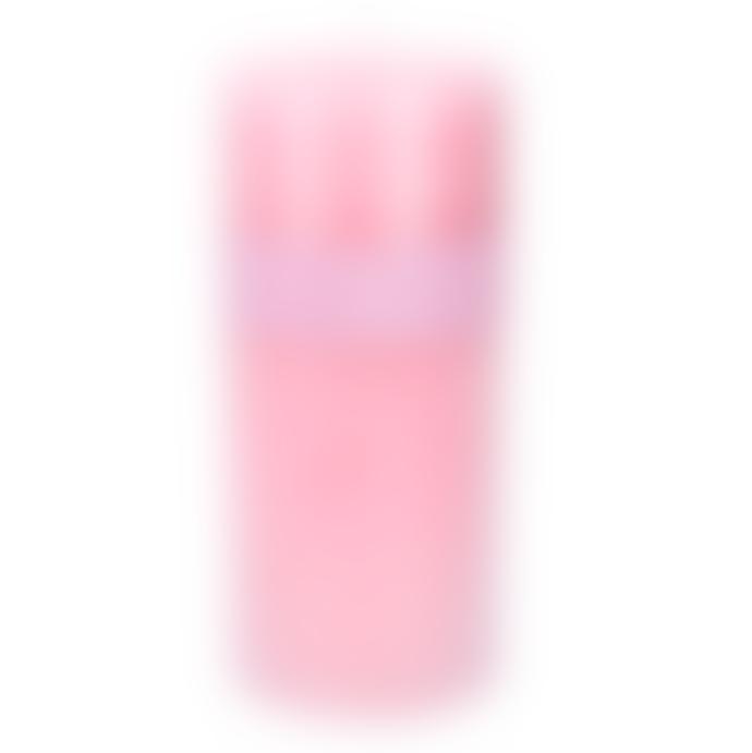 Gisela Graham Pillar Candle 20 Cm Pink Rose