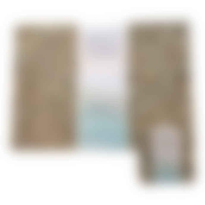 LIGA Beach Clean Square Coasters Set of 4
