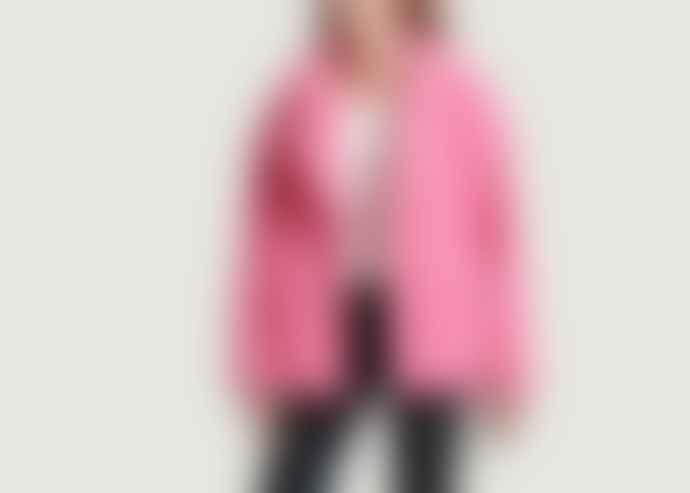 STAND STUDIO Pink Marina Fantasy Fur Coat