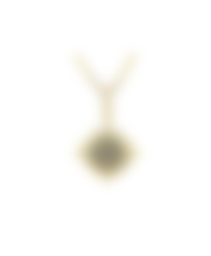 Last True Angel Zircon Crystal Necklace