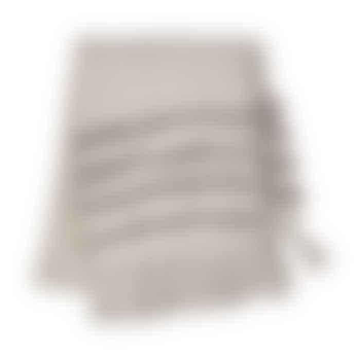 Sass & Belle  Grey Tufted Blanket Throw