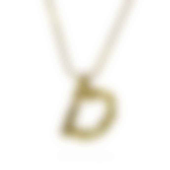 Universe Of Us Bamboo Initial Necklace
