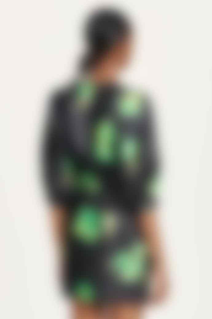 SamsoeSamsoe Celestina Green Waterlily Dress