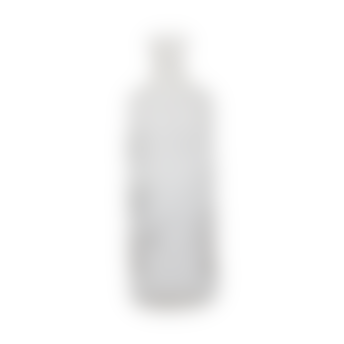 A la Ornate Round Clear Bottle