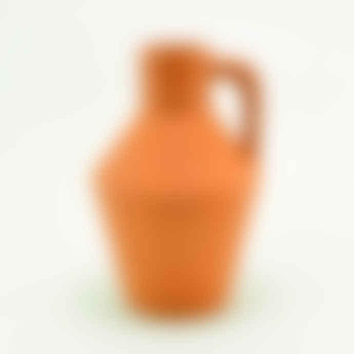 casa atlantica terracotta vase