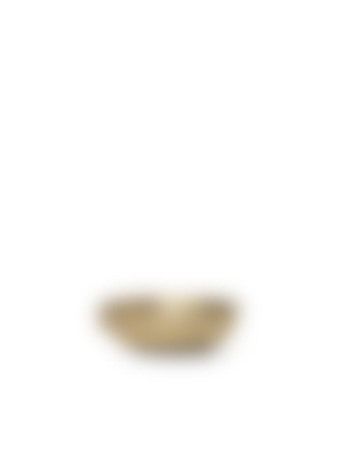 Ferm Living Bowl Candle Holder Brass