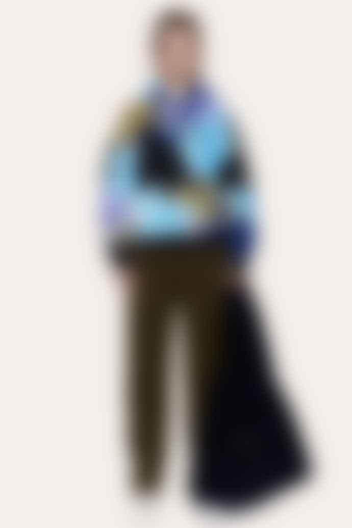 Stine Goya Adrisa Rosegarden Blue Hoodie