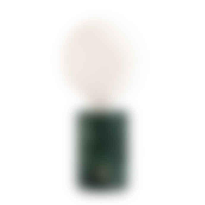Edgar Orbis Ambient Lamp - Green Marble