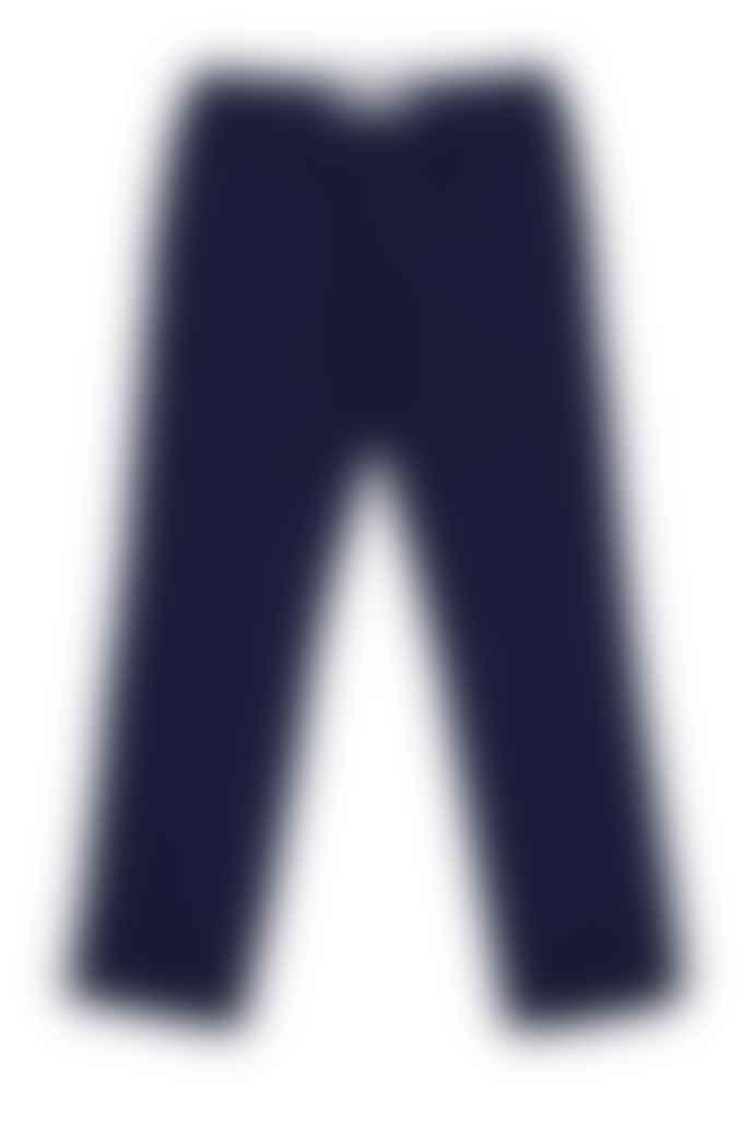 Outland Navy Pleats Trouser