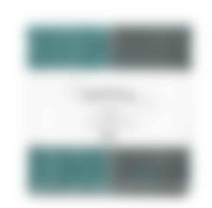 Nawrap Dishcloth Anti Odor R I B Turquoise