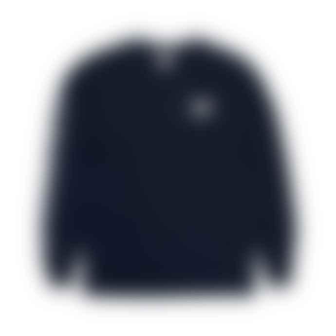 RIP N DIP Lord Nermal Longsleeve Pocket T Shirt Navy