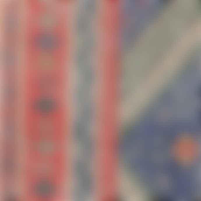 HKliving 90 x 60cm Runner Red Blue
