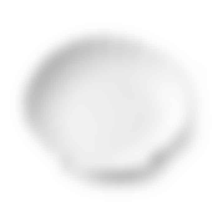 HKliving Athena Ceramics Shell Tray White L