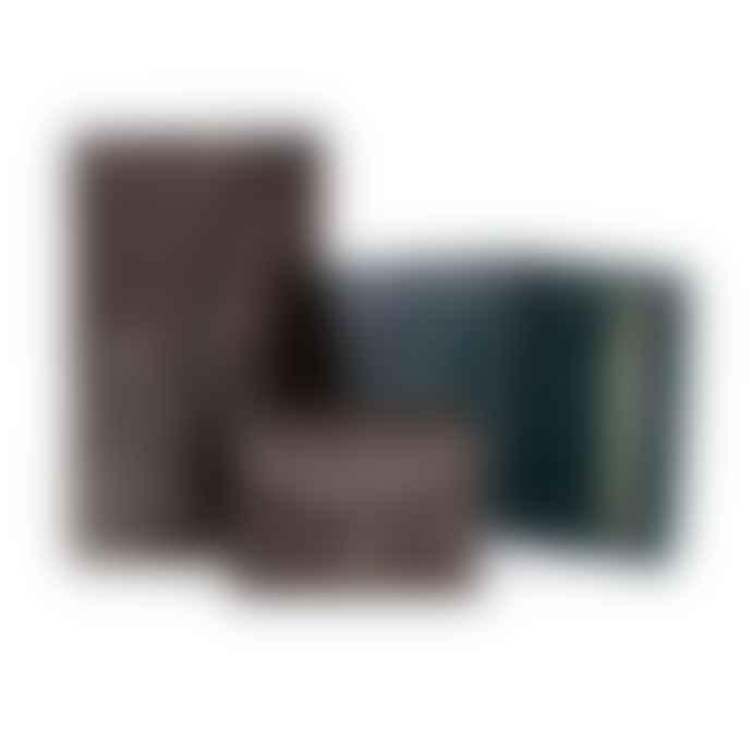 Craie Mini Black Nugget Folding Wallet