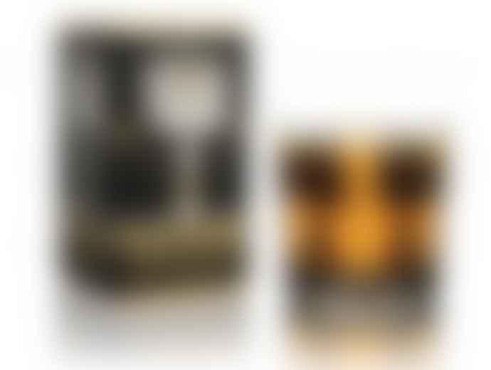 Ortigia 170g Amber Square Black Scented Candle