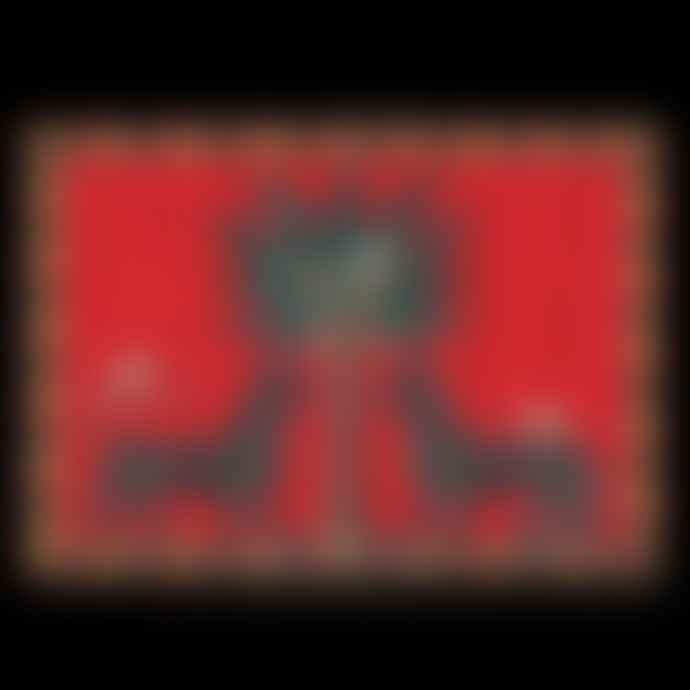 Ortigia Large Red Mosaico Tray