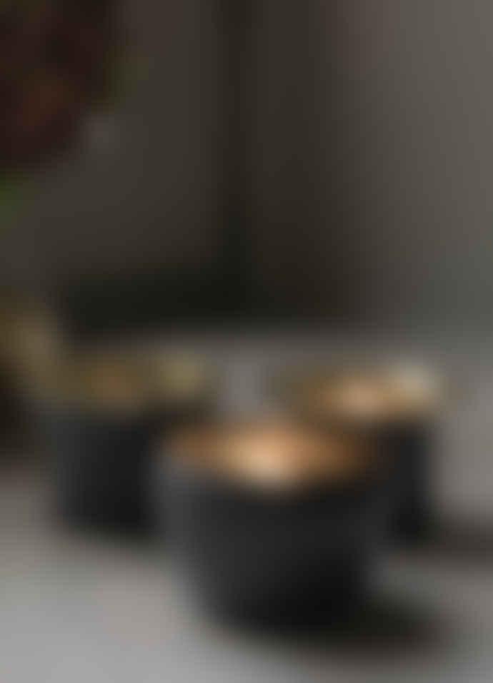 Skultuna Kin Moles Grey Candle Holder Set of 3