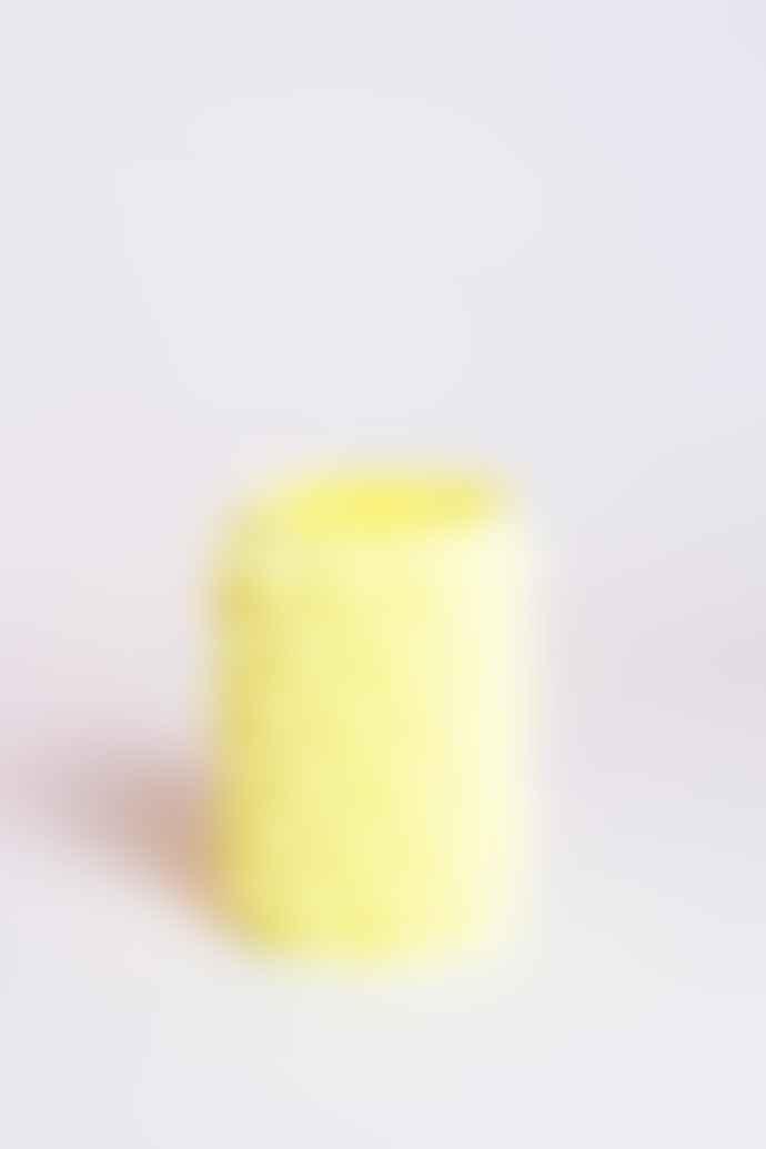 UAU project S Vase 05 Yellow