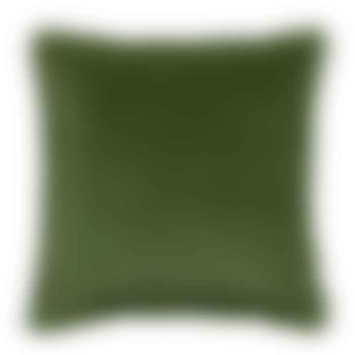 Viva Raise Fara Cushion In Eucalyptus Green 45 X 45 Cm