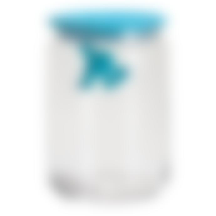 Alessi UK Ltd Gianni Glass Storage Jar 6 Inch