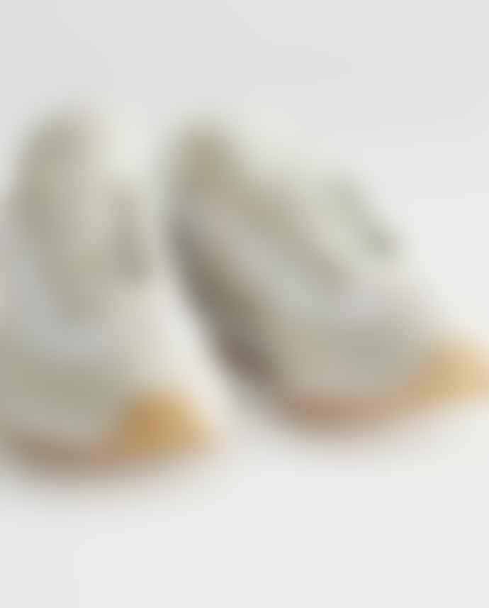Veja Rio Branco Suede Mesh Trainers Shoes White