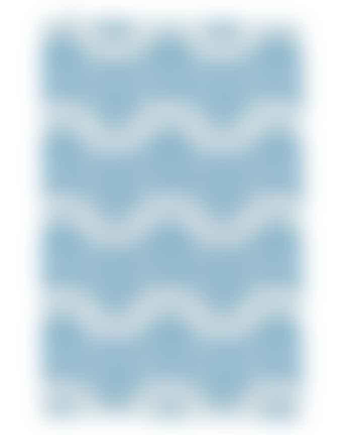 Thornback & Peel Tea Towel Sardine Tins Blue