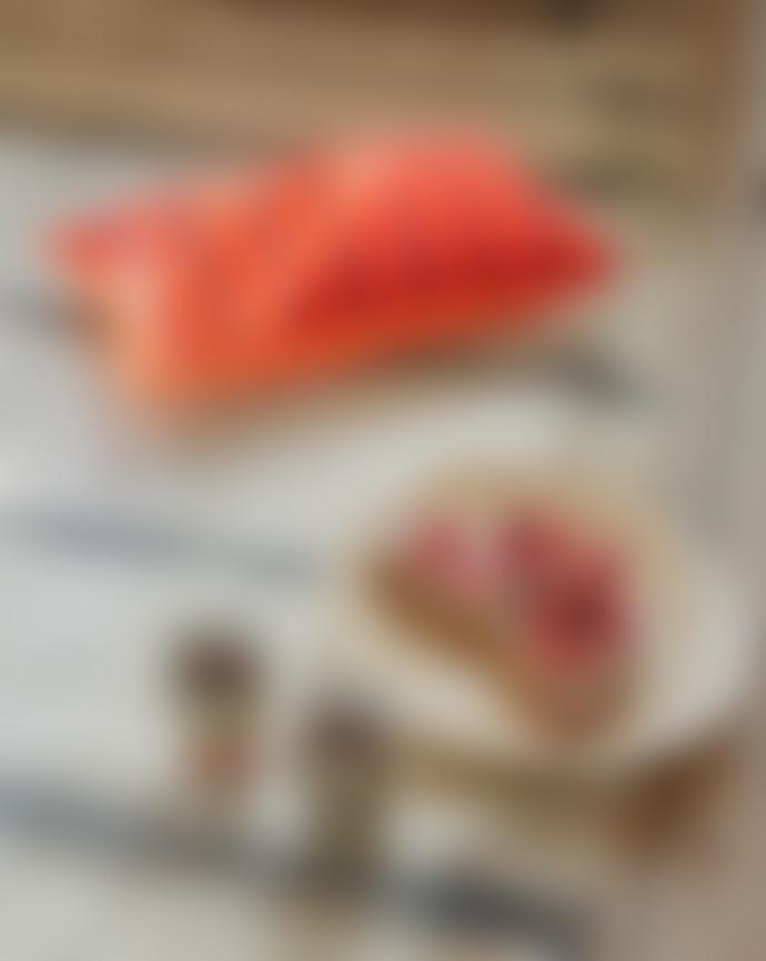 HKliving Red / Burgundy Striped Velvet Cushion 30x50