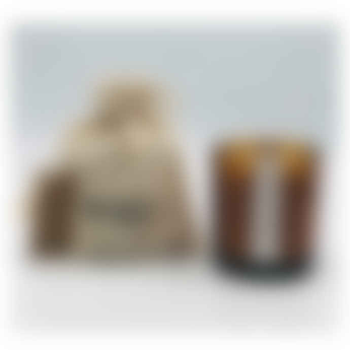 WXY Smoked Rose & Sumatran Pine Mini Amber Candles 5oz