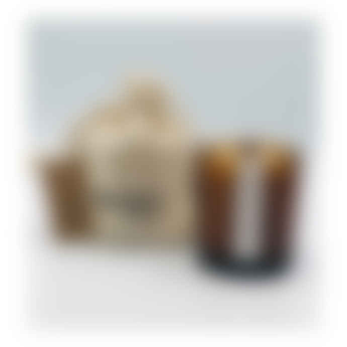 WXY Black Ash & Frankincense Mini Amber Candles 5oz