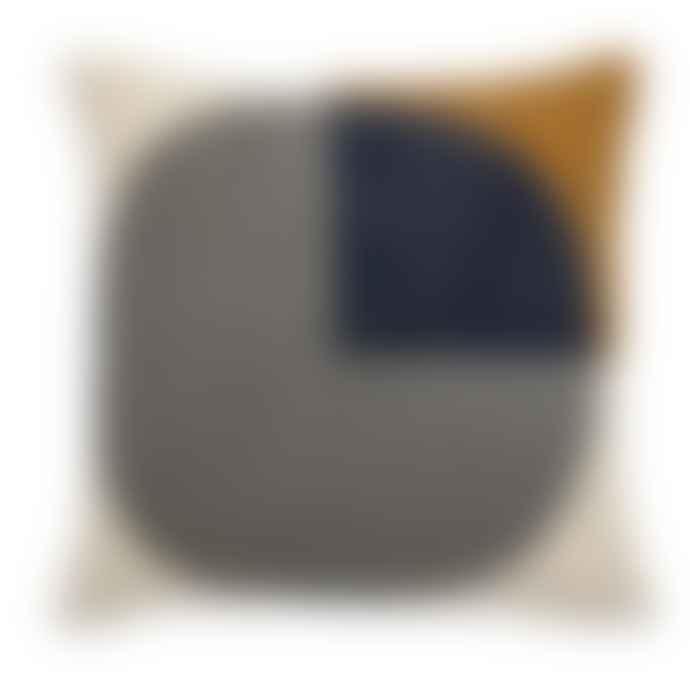 Bloomingville Cushion, Multi-color, Cotton