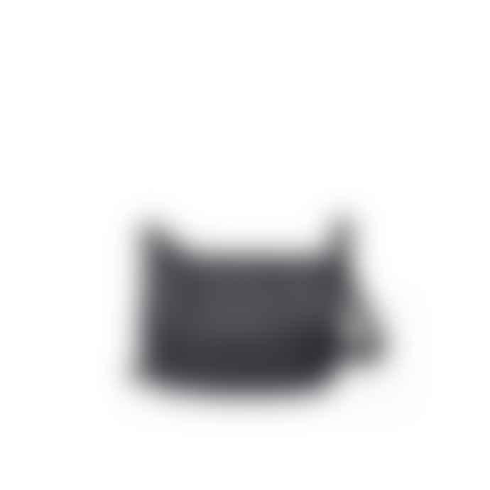 Nat & Nin Jenny Leather Shoulder Bag Black