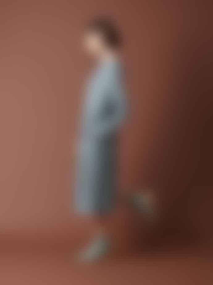 Indi & Cold Abbie Midi Dress With Polka Dot Print