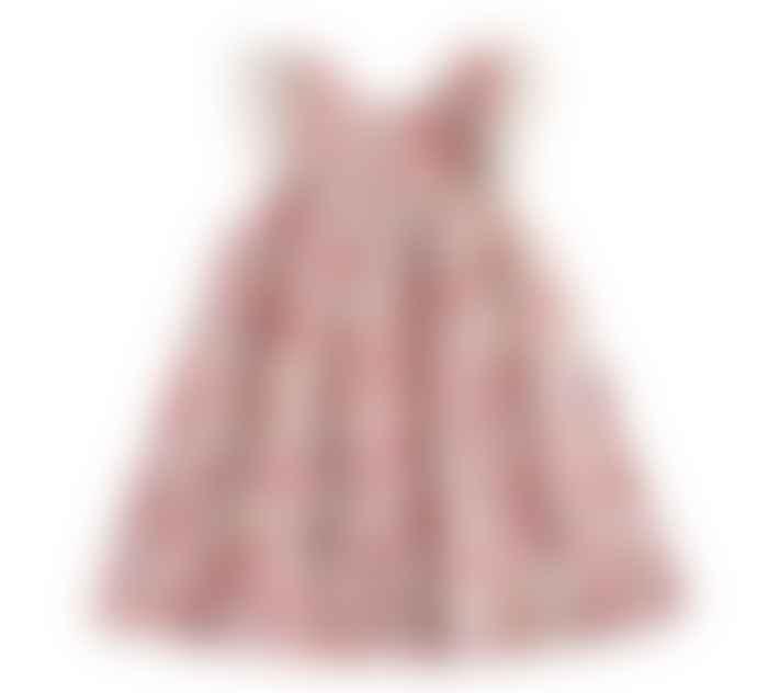Louise Misha Janice Pink Flowers Dress