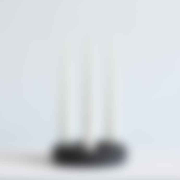 Studio Brae Charcoal 3 Candle Holder