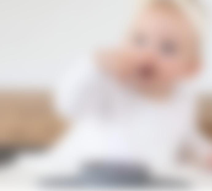 ezpz Gray Tiny Bowl for Babies