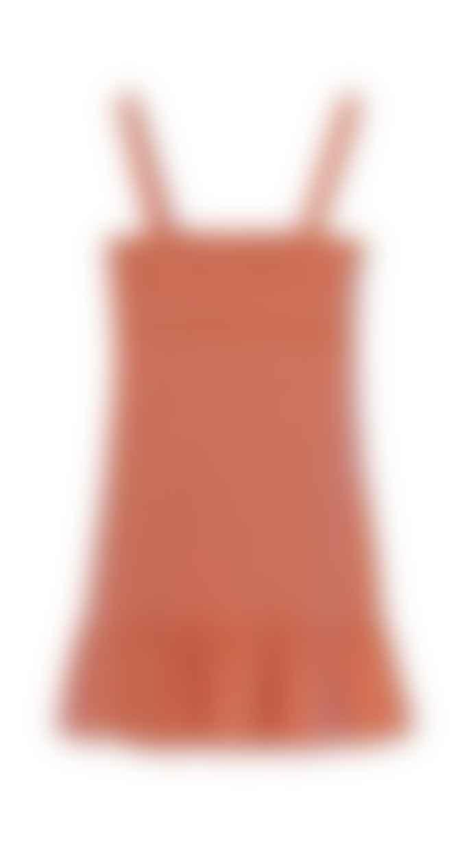 Cecilie Copenhagen Orange Judith Dress