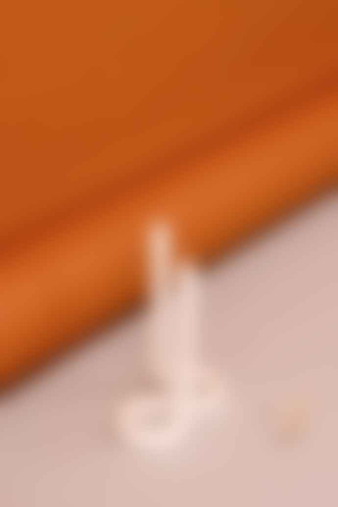 Lex Pott Twist Candle - White -