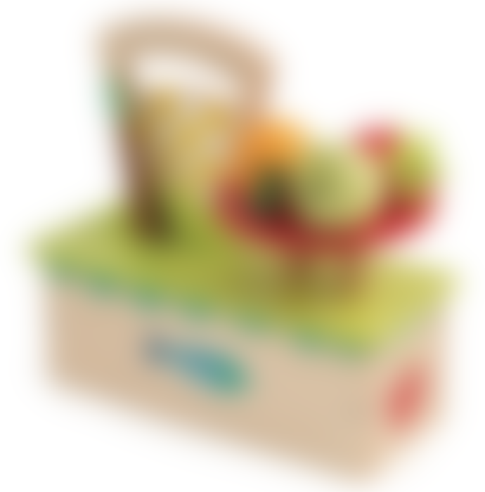 Tender Leaf Toys Wooden Scales With Fruit
