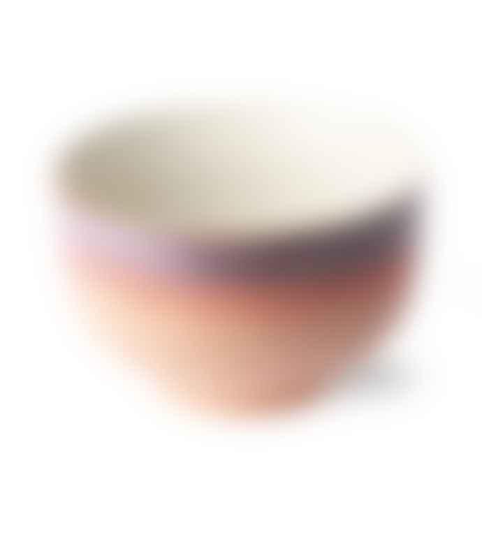 HKliving 70 S Ceramic Noodle Sunset Bowl