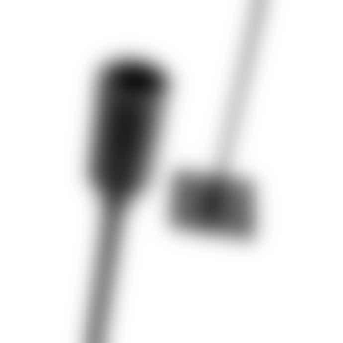 Muubs Large 40 cm Black Moment Iron Candle Holder