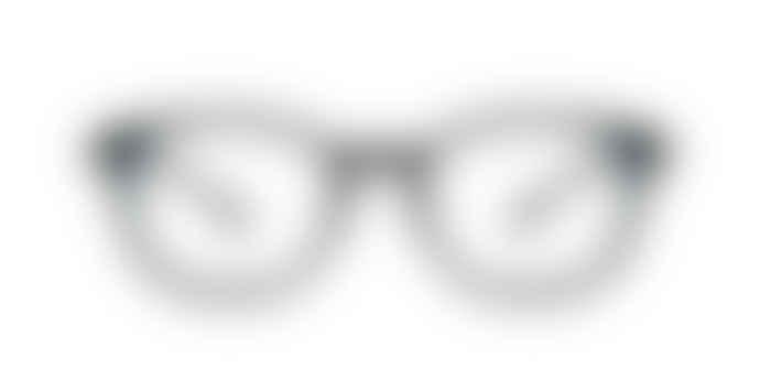 Parafina Sustainable Sena Black Unisex Reading Glasses Anti Blue Light