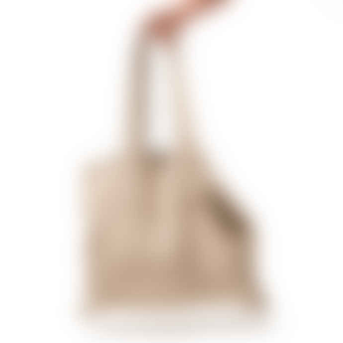 The Grey Works Large Linen Shopper Style Bag Natural