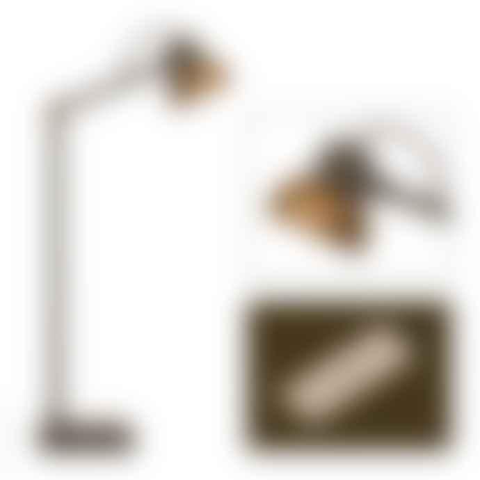Frezoli Mazz Table Lamp Brown Patina