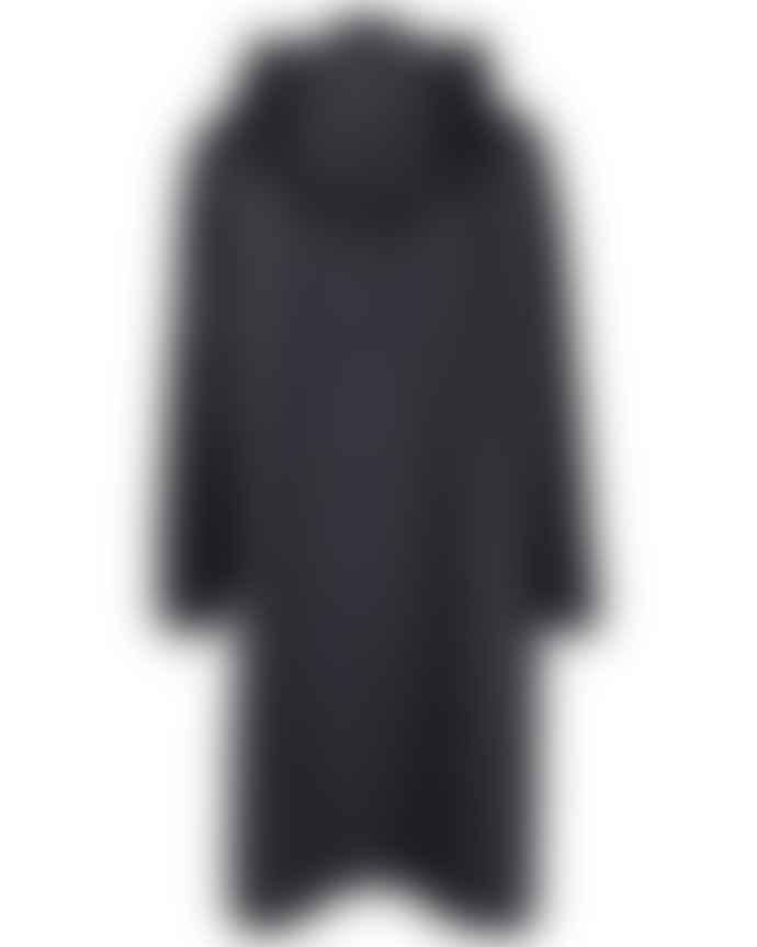 Ilse Jacobsen  Hornbaek A Line Raincoat Indigo