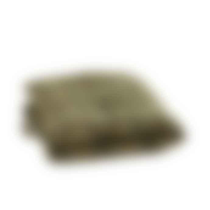 Madam Stoltz Olive Blue Dusty Rose Sand Printed Cotton Mattress 60 X 100 Cm