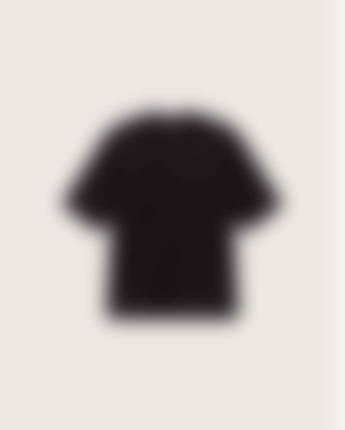 Thinking Mu Black Organic Cotton T Shirt Mock