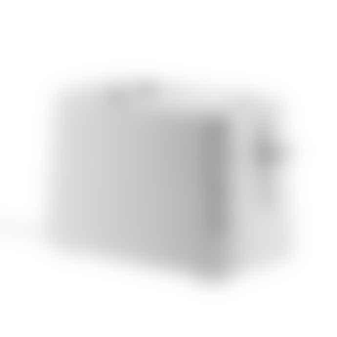 Alessi White Plisse Toaster UK Plug