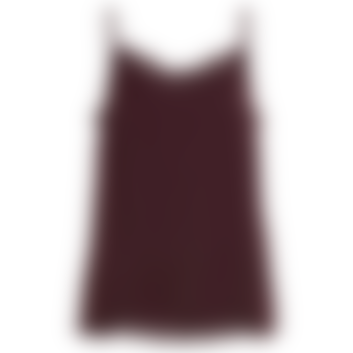 Vila Vicava Lace Singlet Burgundy