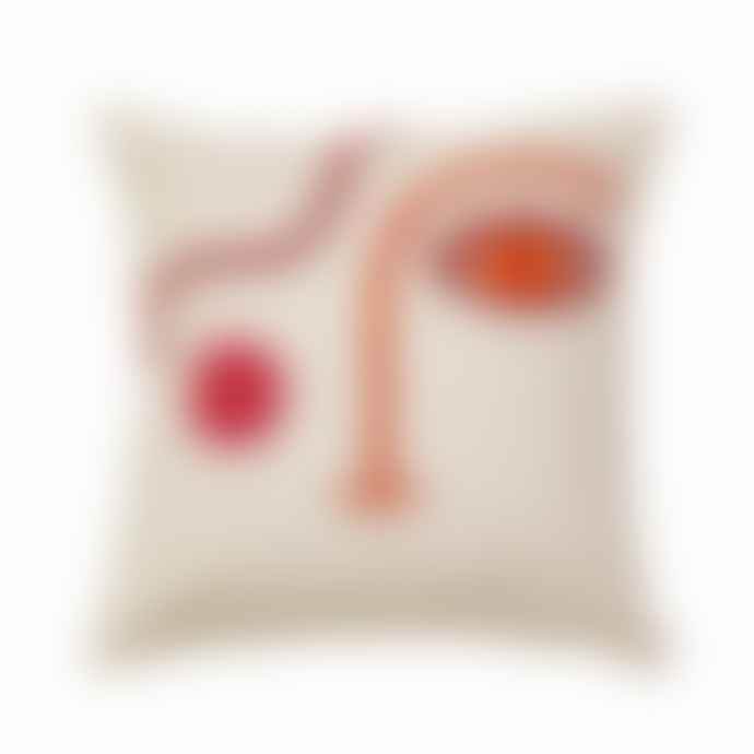 Lark London Tufted Face Cushion
